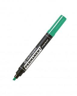 Маркер пермонентний, скошений 2,5 мм, зелений, ТМ Centropen