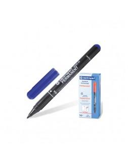 Маркер пермонентний, круглий, тонкий 1 мм, синій, ТМ Centropen