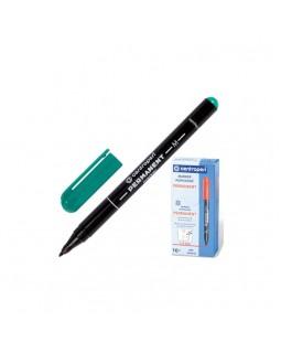 Маркер пермонентний, круглий, тонкий 1 мм, зелений, ТМ Centropen