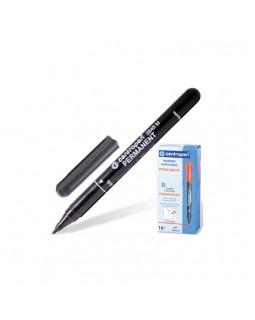 Маркер пермонентний, круглий, тонкий 1 мм, чорний, ТМ Centropen