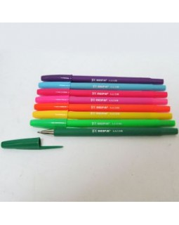Ручка кулькова, оксамитова, синя, ТМ Beifa