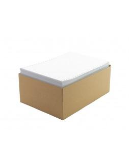 Папір перфорований 420 Е 45 гр/м2, у коробці