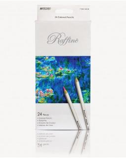 Олівці шестигранні 24 кольорів «Reffine» ТМ Marco