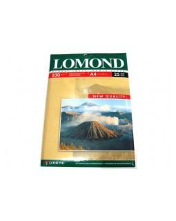 Папір Lomond, глянець,A4 230 гр/м2, 1 стор., 50 арк. (0102022)