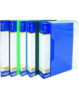 Папка пластикова А4 з 30 файлами Economix, в асортименті