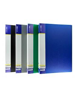 Папка пластикова А4 з 60 файлами Economix, в асортименті