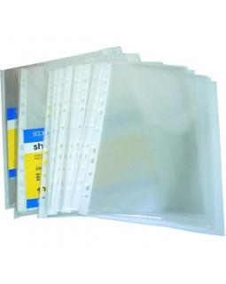 Файл А4 прозорий 30 мкм, глянсова фактура, 100 шт. в уп., Economix