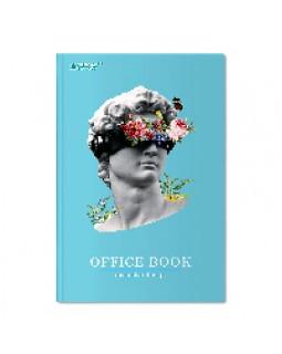 Зошит А4 176 арк., тверда палітурка, клітинка, білий папір, в асортименті