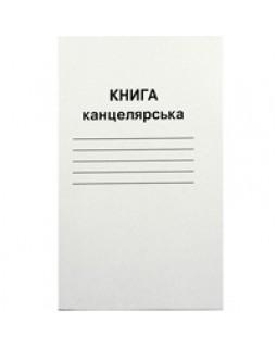 Зошит на скобі А4 96 арк., клітинка, обкладинка картонна, папір газетний, ТМ Brisk