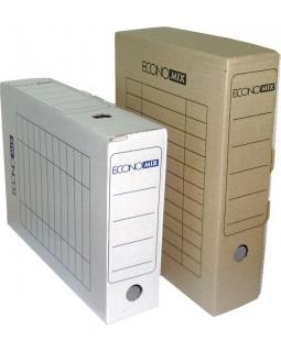 Бокс архівний для документів картонний, 8 см