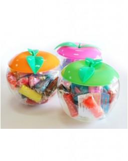 Набір тісто для ліплення 12 кольорів «Твори яскраво» в пластиковій упаковці - яблуко, 240 гр, ТК452