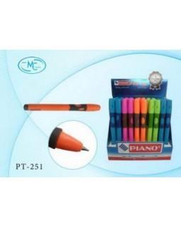 Ручка - тренажер для праворуких, кулькова, синя ТМ Piano