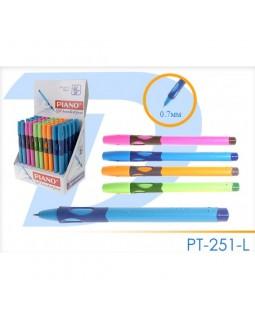 Ручка - тренажер для ліворуких, кулькова, синя, ТМ Piano