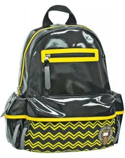 Рюкзак підлітковий «Х088. Oxford» чорно - желный, 35 х 28 х 13 см
