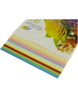 Папір кольоровий А4 100 аркушів, 80 гр/м2, супер мікс, 10х10 «Rainbow Pack» SPECTRA COLOR