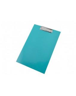 Планшет А4 з затиском, палітурний, ламінований картон, колір синій, ТМ Рюкзачок