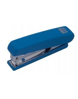 Степлер пластиковий до 12 арк., скоба № 10 «RUBBER TOUCH» синій.