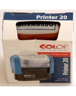 Оснастка для штампу 14 х 38 мм «Отримано» COLOP