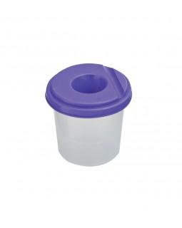Склянка - непроливайка одинарна, фіолетова.