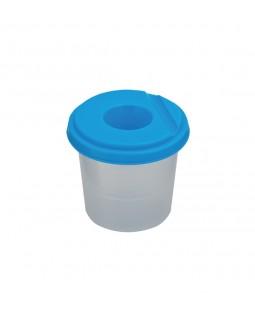 Склянка - непроливайка одинарна, синя.