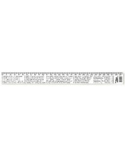 Лінійка 30 см, фізичні формули