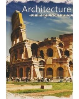 Записна книжка А5 120 арк., клітинка, кремовий папір, крафт, ТМ SKILL