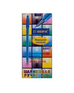 Ручка кулькова, синя, ТМ Biеfa