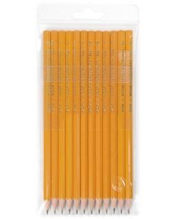 Олівець графітний Н-3В, 10 шт.