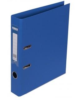 Папка - реєстратор А4 ELITE двостороння, збірна, 50 мм, PP, синя.