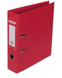 Папка - реєстратор А4 ELITE двостороння, збірна, 70 мм, PP, червона.