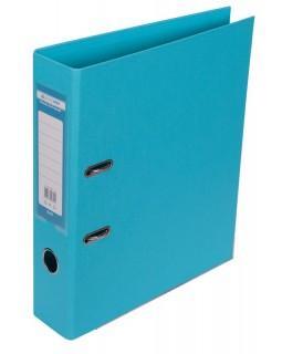 Папка - реєстратор А4 ELITE двостороння, збірна, 70 мм, PP, блакитна.