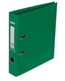Папка - реєстратор А4 ELITE двостороння, збірна, 50 мм, PP, зелена.