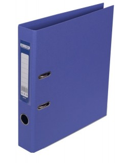 Папка - реєстратор А4 ELITE двостороння, збірна, 50 мм, PP, фіолетова.