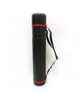 Тубус для креслень чорний, 45 х 70 см, D-7