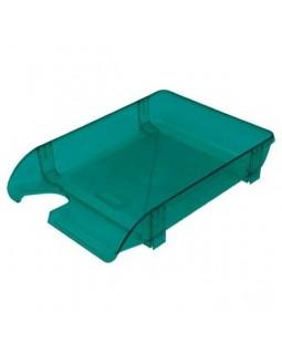 Лоток горизонтальний, пластиковий, св.-зелений.