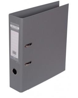 Папка - реєстратор А4 ELITE двостороння, збірна, 70 мм, PP, сіра.