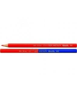 Олівець графітний кольоровий, червоний.