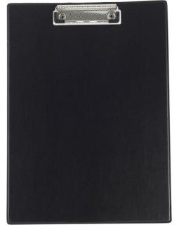 Планшет А4 з затиском, чорний, PVC
