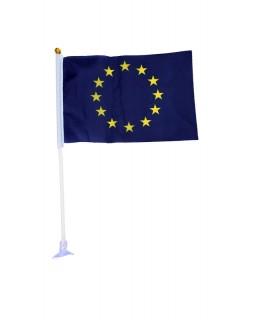 Прапор Євросоюзу на палочці 10 х 15 см