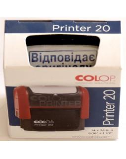 Оснастка для штампу 14 х 38 мм «Відповідає оригіналу» COLOP