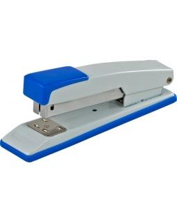 Степлер металевий до 20 арк., скоба № 24, 26, подовж., JOBMAX, синій.
