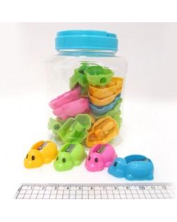 Чинка без контейнера «Черепашка» в банці, в асортименті (104052)