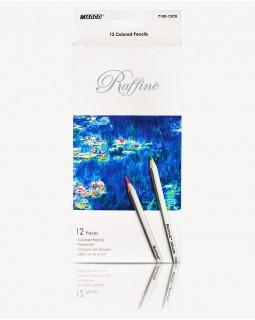 Олівці шестигранні 12 кольорів «Reffine» ТМ Marco