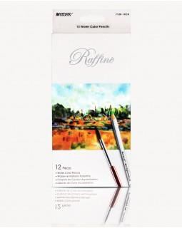 Олівці акварельні 12 кольорів «Reffine» ТМ Marco