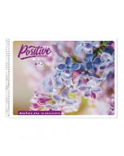 Альбом для малювання 30 аркушів, на спіралі, Gold Brisk