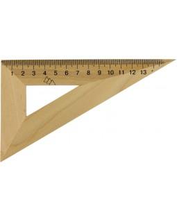 Трикутник дерев'яний 16 см, 30°х60°