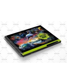 Скетчбук А5, 24 арк., BLACK
