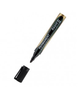 Маркер пермонентний, круглий 2 мм, чорний