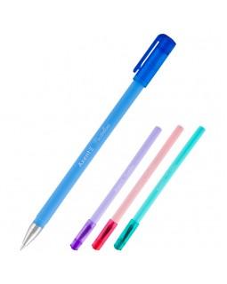 Ручка кулькова, синя «Pastelini» в асортименті, ТМ Axent