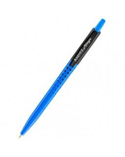 Ручка кулькова, автоматична, синя «Allegro» ТМ Axent